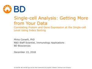 Single-cell analysis: Getting more from your data