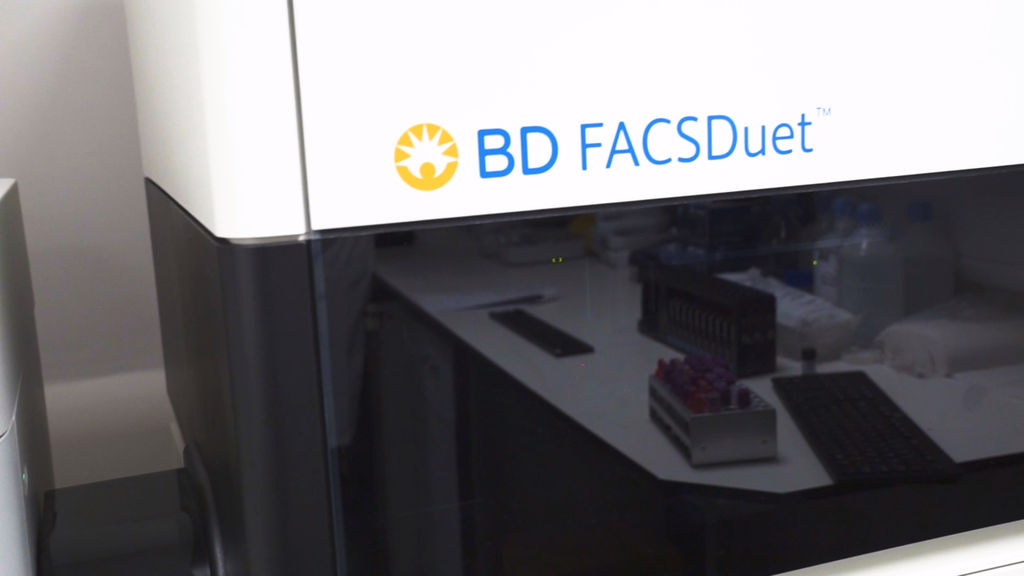 FACS Duet automated sample preparation solution