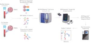 Exploring tumor heterogeneity of chronic lymphocytic leukemia (CLL) using a unique workflow.
