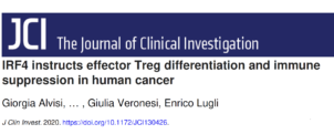 The use of high-dimensional flow cytometry in the study of Tregs in tumor microenvironments and immune suppression