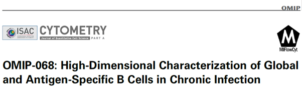 OMIP-068: High-dimensional characterization of global and antigen-specific B cells in chronic infection