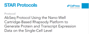 BD™ AbSeq protocol using the nano-well cartridge-based BD Rhapsody™ platform