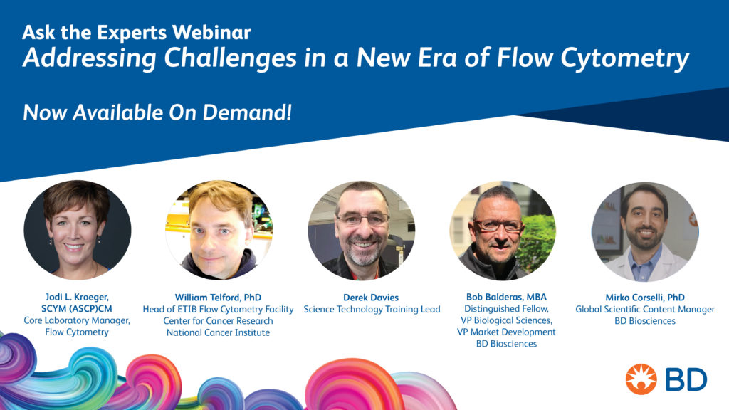 Webinar: Ask the experts – Addressing challenges in a new era of flow cytometry