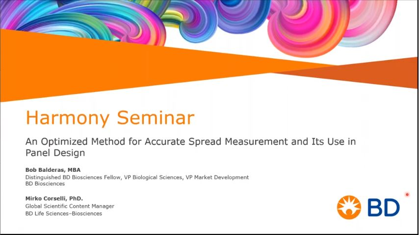 Harmony Seminar – An optimised method for accurate spread measurement and its use in panel design